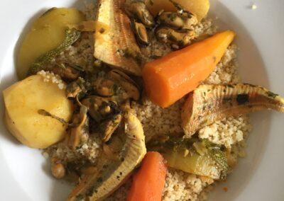 photo couscous de poisson