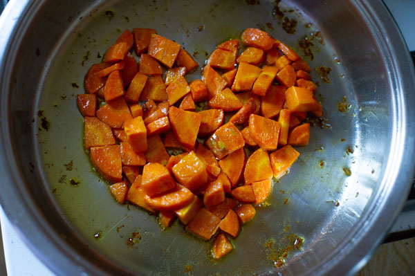 image repas carottes à emporter - traiteur